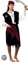 Luxe Piraat Cutie - Kostuum - Maat M - Zwart