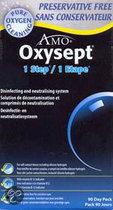 Oxysept 1 Step 3 Maanden - 3 x 300 ml + 90 tabletten - Lenzenvloeistof