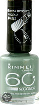 Rimmel 60 seconds finish nailpolish - 813 French Kiss in Holland park - Nailpolish