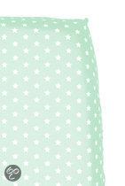 Cottonbaby Sterretjes - Hoeslaken Wieg 40x80 cm - Mint