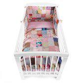 Childhome - Bedbeschermer 35x170 - Patchwork Country