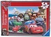 Ravensburger Cars Explosieve Race - Puzzel 100 stukjes