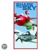 Disney Strandlaken planes sky  - 70x140 cm
