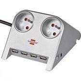 Brennenstuhl Desktop Power-Plus