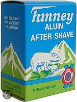 Tunney Aluinblokje - Aftershave