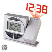 Proficell Radio Controlled Alarm Clock with Projection