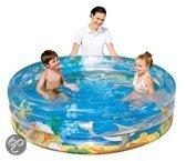 Bestway 3 Rings Opblaasbaar Zwembad - Sea Life - 150x53 cm