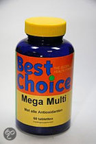 Best Choice Mega Multi - 60 Tabletten
