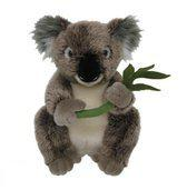 Nicotoy Koala met eucalyptus - Knuffel