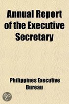Annual Report of the Executive Secretary