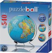 Puzzleball Aarde Op Draaistandaard