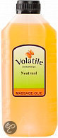 Volatile Neutraal - 2500 ml - Massageolie