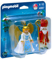 Playmobil Sinterklaas en Kerstengel - 4887