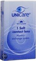 Unicare Maand -4.50 - 1 st - Contactlenzen