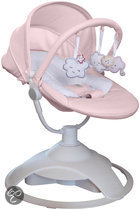 Red Castle - CLOUDZZ Baby Bouncer - Roze
