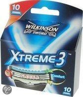 Wilkinson Xtreme 3 Active - 10 stuks - Scheermesjes