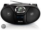 Philips AZ385 - Radio/Cd-speler - Zwart