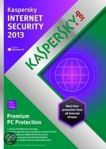 Kaspersky Internet Security 2013 -  Benelux / 1 PC / 1 jaar / DVD