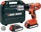 Black & Decker Accu Klopboormachine ASL188KB - 18V 1,3 Ah Li-Ion