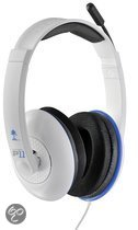 Turtle Beach Ear Force P11 Wired Stereo Gaming Headset - Wit (PS3 + PS4 + PC + Mac)