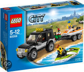 LEGO City Great Vehicles SUV met Waterscooters - 60058