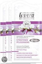 Lavera Regenerating Skin Care - Gezichtsmasker - 3 stuks - Voordeelverpakking