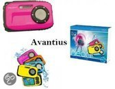 W510 Aquapix Neon Onderwater Camera roze