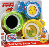 Fisher-Price Stack'n Nest stapelpret pannenset