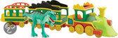 Dinosaurus Trein - Licht en Geluid Trein met Laura