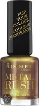 Rimmel METAL RUSH NAIL COLOUR - 70 Gold Save the Queen - nagellak
