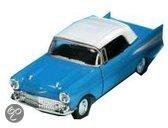Welly Corvette bel air blauw