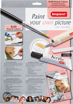 Bruynzeel Paint Your Own Picture Refill Portrait Colour