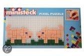 Ministeck Varkens mini pixel puzzle