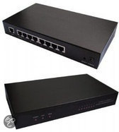 Gembird Breedbandrouter - 8 x LAN Poorten / 1 x WAN aansluiting