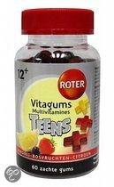 Roter Vitagums Teens 60st