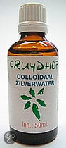 Cruydhof Colloïdaal Zilverwater - 50 ml - Voedingssupplement