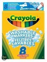 Crayola Superstiften 8 stuks