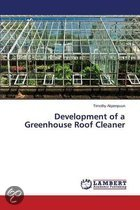Development of a Greenhouse Roof Cleaner
