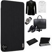 Galaxy Tab4 10.1 Grace Leather Folio Case Cover Hoesje Baseus zwart
