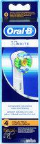 Oral-B 3D White Eb 18 - 4 st - Opzetborstel