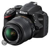 Nikon D3200 + 18-55 mm VR - Spiegelreflexcamera - Zwart