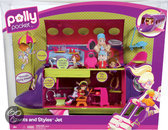 Polly Pocket Stunts 'n Styles Jet
