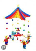 Goki Mobiel circus acrobaten 29 x 40 cm