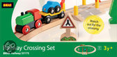 Brio Spoorwegovergang Set