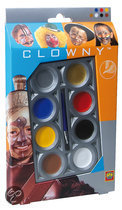 Ses Clowny Aquaschmink 8 Kleuren Basis
