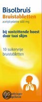 Bisolvon Acetylcysteïne 600 mg - 10 Tabletten - Bruistabletten
