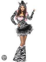 Volwassenenkostuum Sexy Zebra maat M