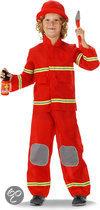 Brandweerman - Kostuum - Maat 104-110