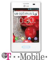 LG Optimus L3 II - Wit - T-Mobile prepaid telefoon