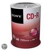 CD-R 48X 700MB SPINDLE 100PCS